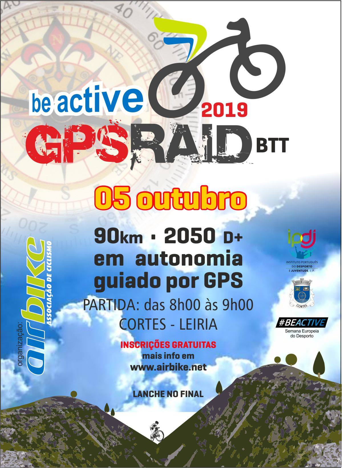 Be Active GPS Raid 2019